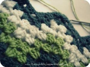 Lazy Hobbyhopper granny ripple blanket