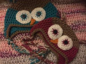 Owl hats - a crafty blog