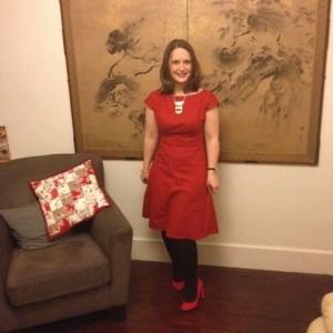 Finished dress