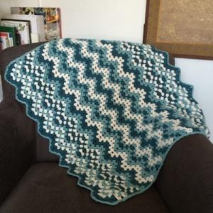 Gleeson blanket chair drape
