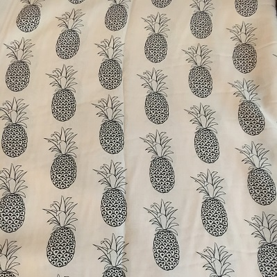 Pineapple viscose