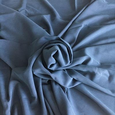 Sandwashed silk
