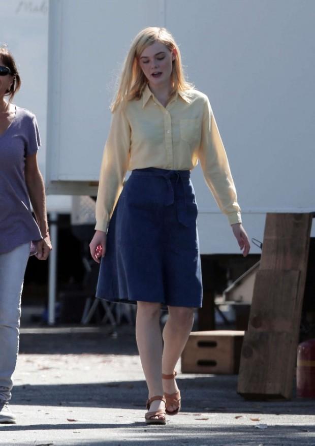 Elle Fanning Miette skirt Got Celeb