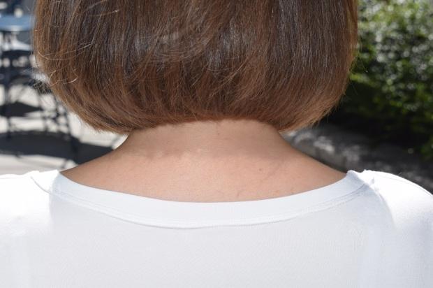 Back neckline