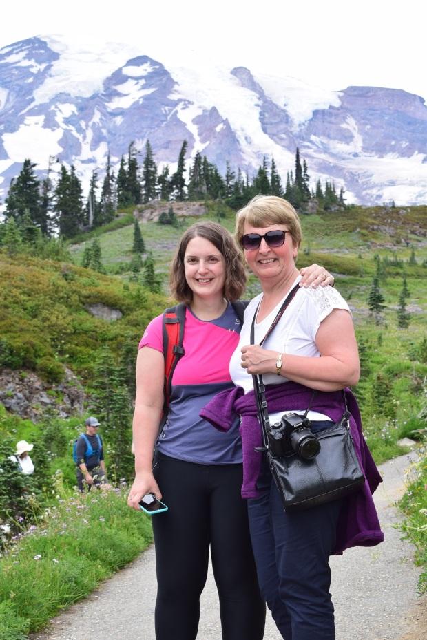 Mum Mt Rainier